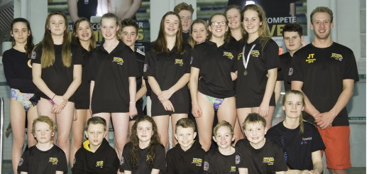 County Championship 2016 swimmers