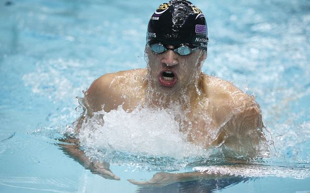 Otters Josh Thompson Olympic Trials
