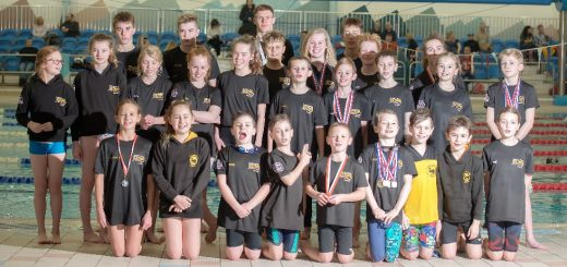 Blackpool Lights and Preston swimmers