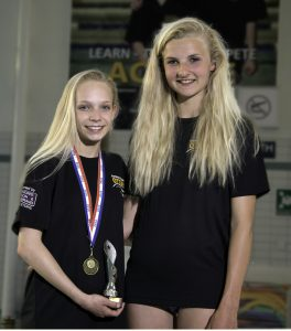 Otters girls success in Modern Triathlon