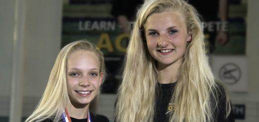 Otters girls success in Modern Triathlon