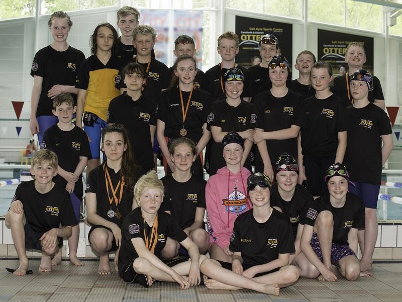Blackpool Rocks swimmers 2017