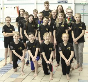 Ulverston open 2018 swimmers
