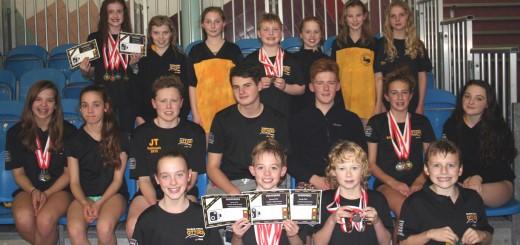 Blackpool Lights 2015 swimmers