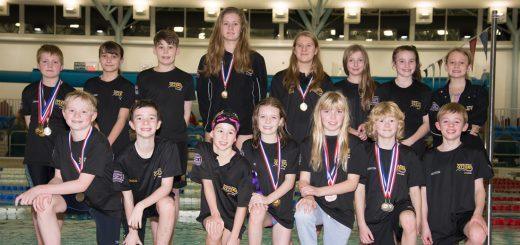 Cumbria Winter 2017 swimmers