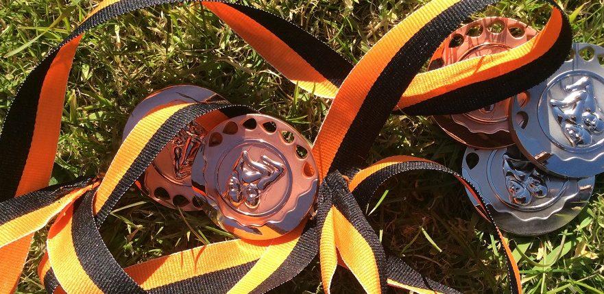 Blackpool Rocks medals